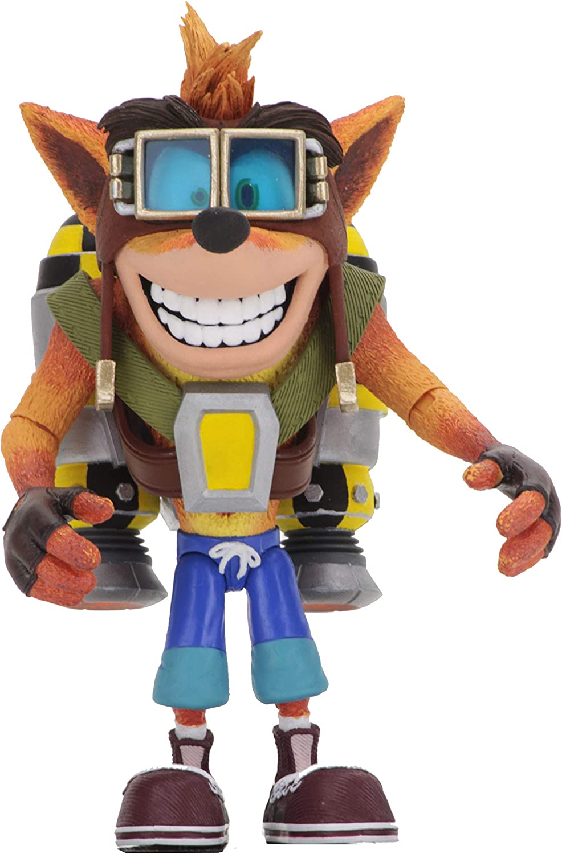 "NECA 7"" Scale Action Figure Crash Bandicoot Crash Bandicoot"