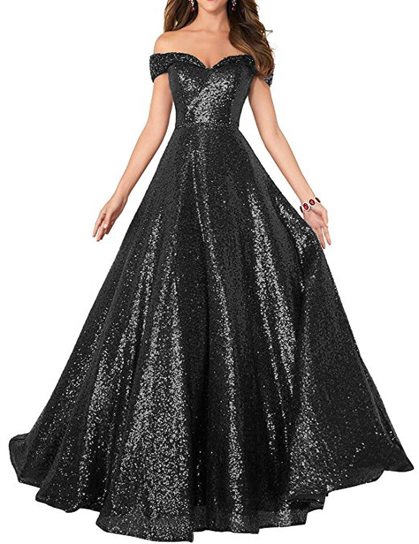 b78dfc606750 Long Sequin Dresses Amazon