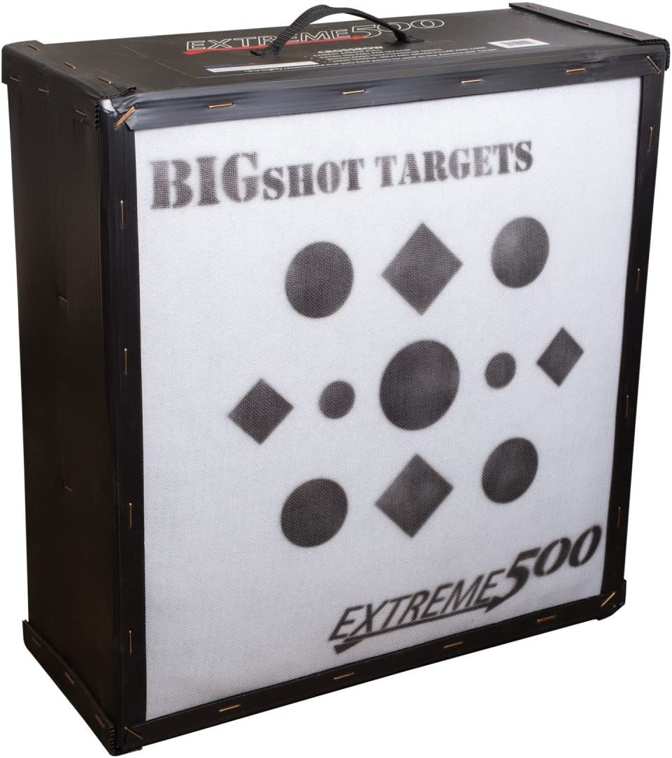 ビッグショットBigshotアーチェリーIron Man Extreme 500ターゲット、ホワイト、24