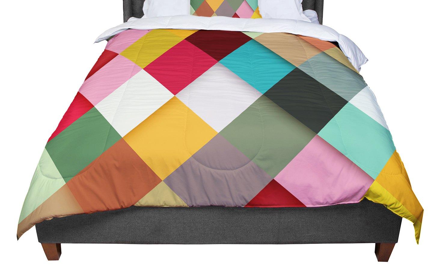 68 X 88 KESS InHouse Danny Ivan Colorful Twin Comforter