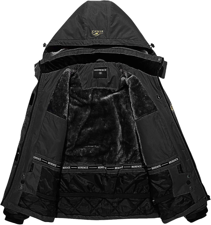 Womens Mountain Waterproof Ski Jacket Windproof Rain Jacket