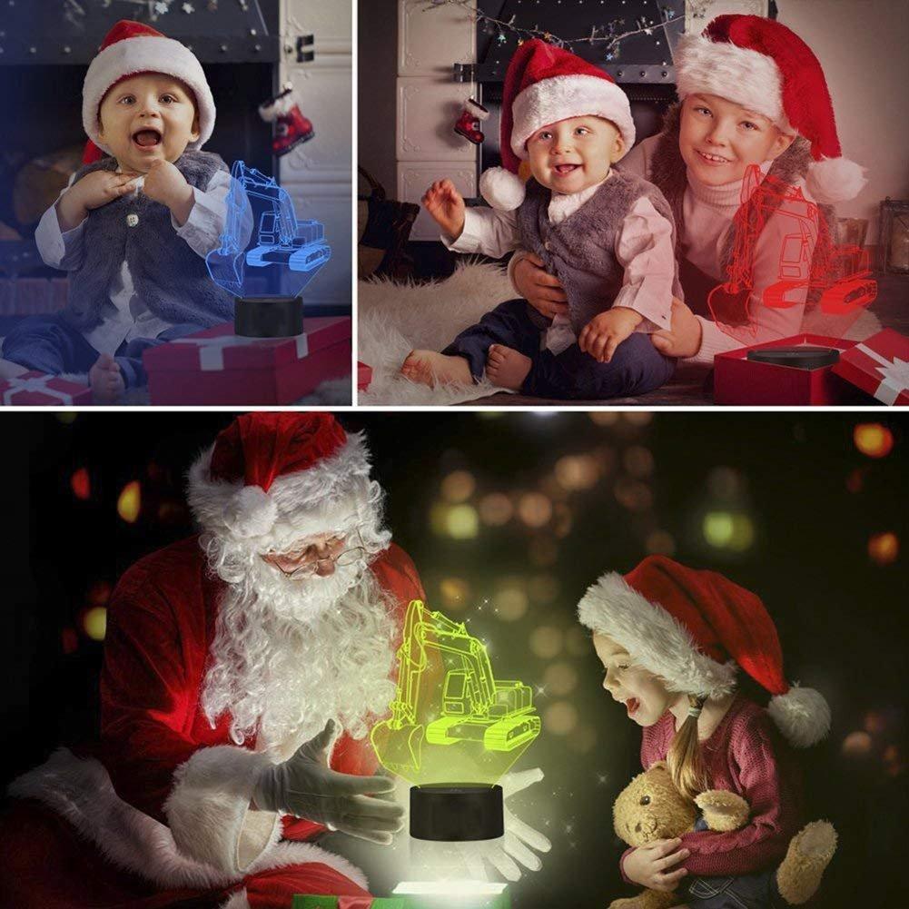 YKMY USB LED 3D Lampada LED Lotus Modello 3D Sensor Night Light Lampada Atmosfera Come Decorazione Camera da Letto Regali per Bambini