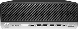 HP ProDesk 600 G5 Small Form Factor PC (i5-9500 Processor, HDMI, 8GB RAM, 256GB SSD, DVDWR) Windows 10 Pro