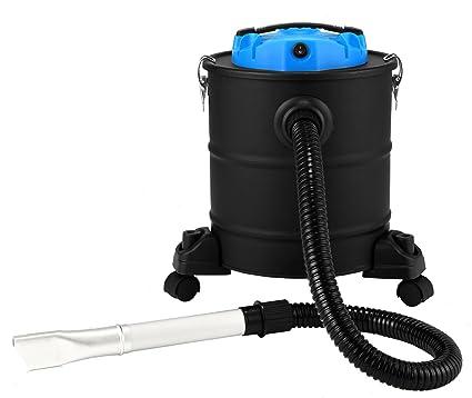 Bikain Dipremium Aspirador de Cenizas, Negro/azul