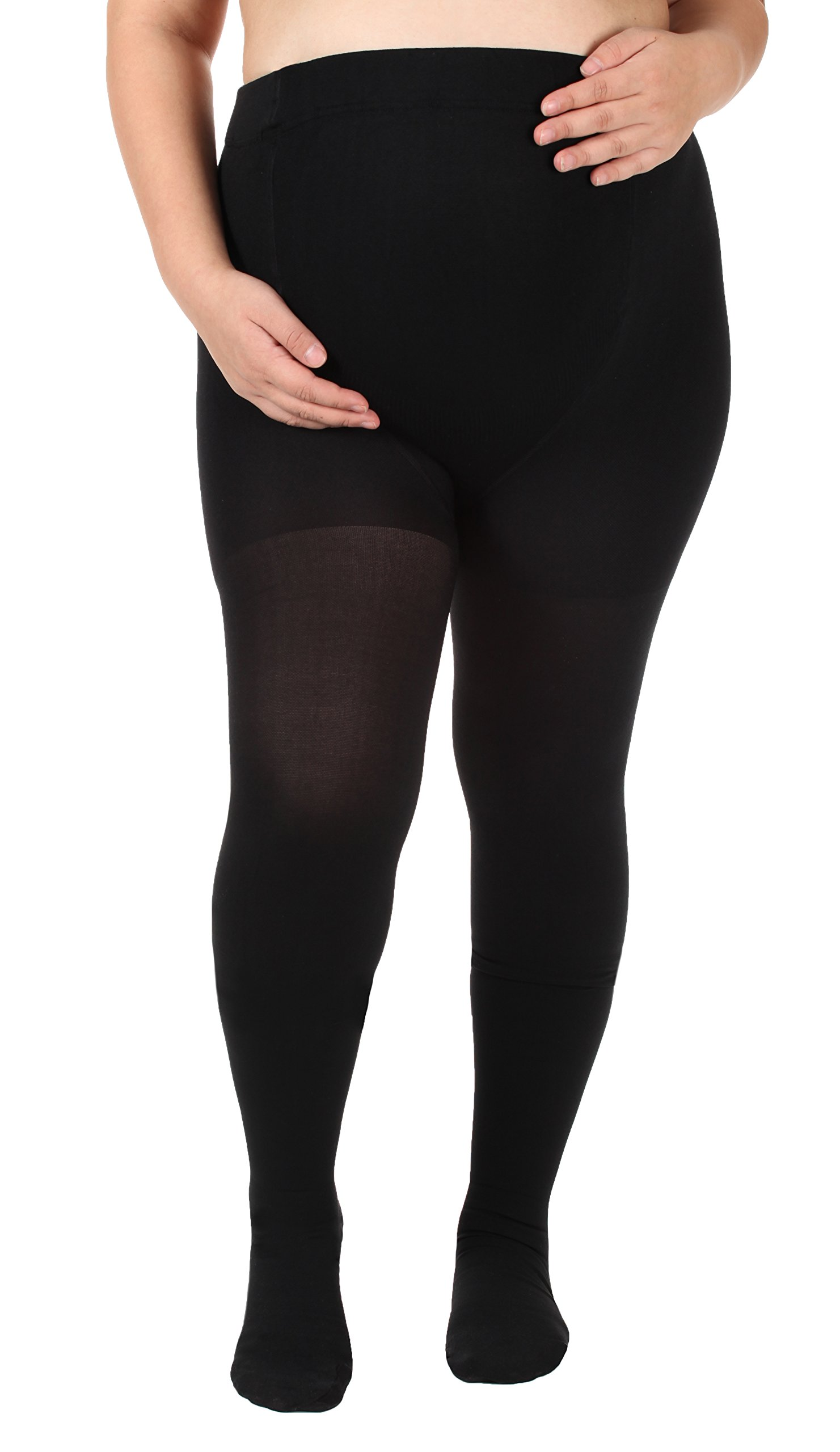44b9d0352 Made in The USA - Opaque XL Maternity Compression Stockings - Absolute Support  Maternity Compression Leggings