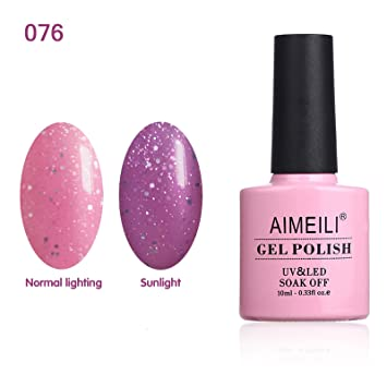 AIMEILI Soak Off UV LED Sun Play Collection Light Color Changing Gel Nail  Polish - Drowned in