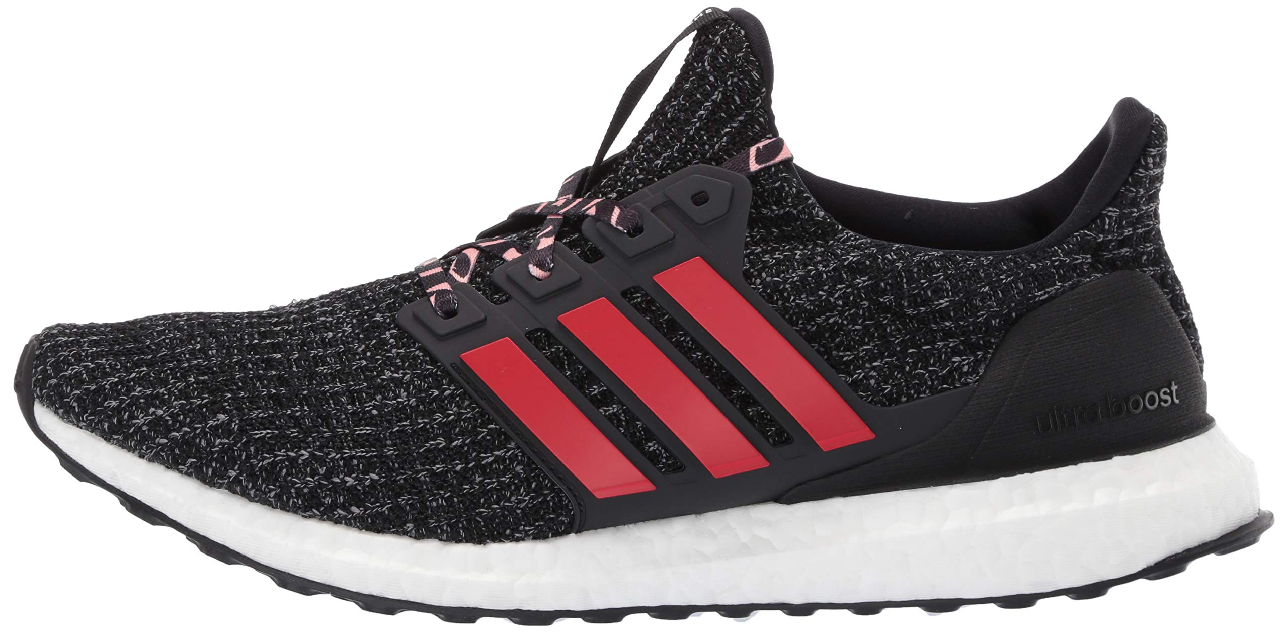 adidas Men's Ultraboost, Black/Scarlet/Grey 4 M US by adidas (Image #5)