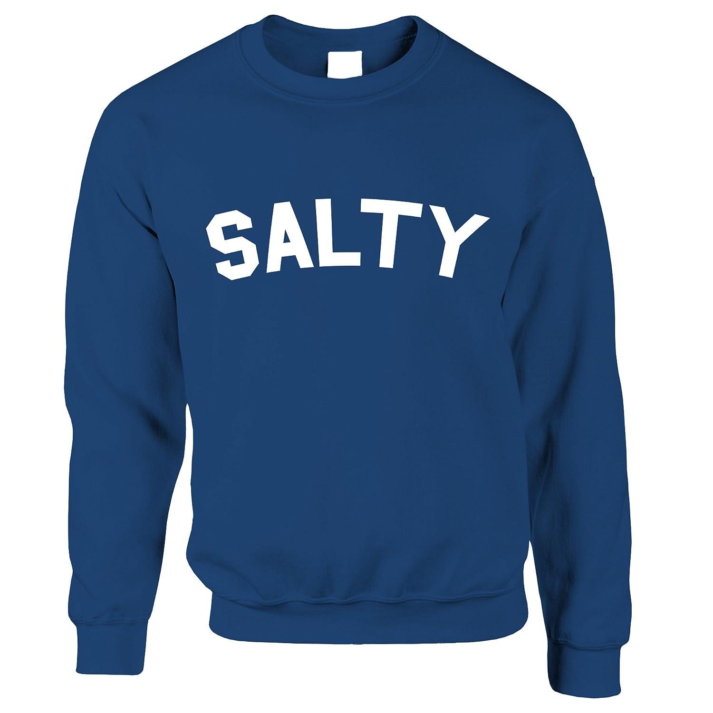 Tim And Ted Salty Mean Rude Slogan Beef Joke Trendy Fashion Sassy Horrible Social Media Blogger Meme Salty Meme Jumper Sweater Sweatshirt Cool Funny Gift Present
