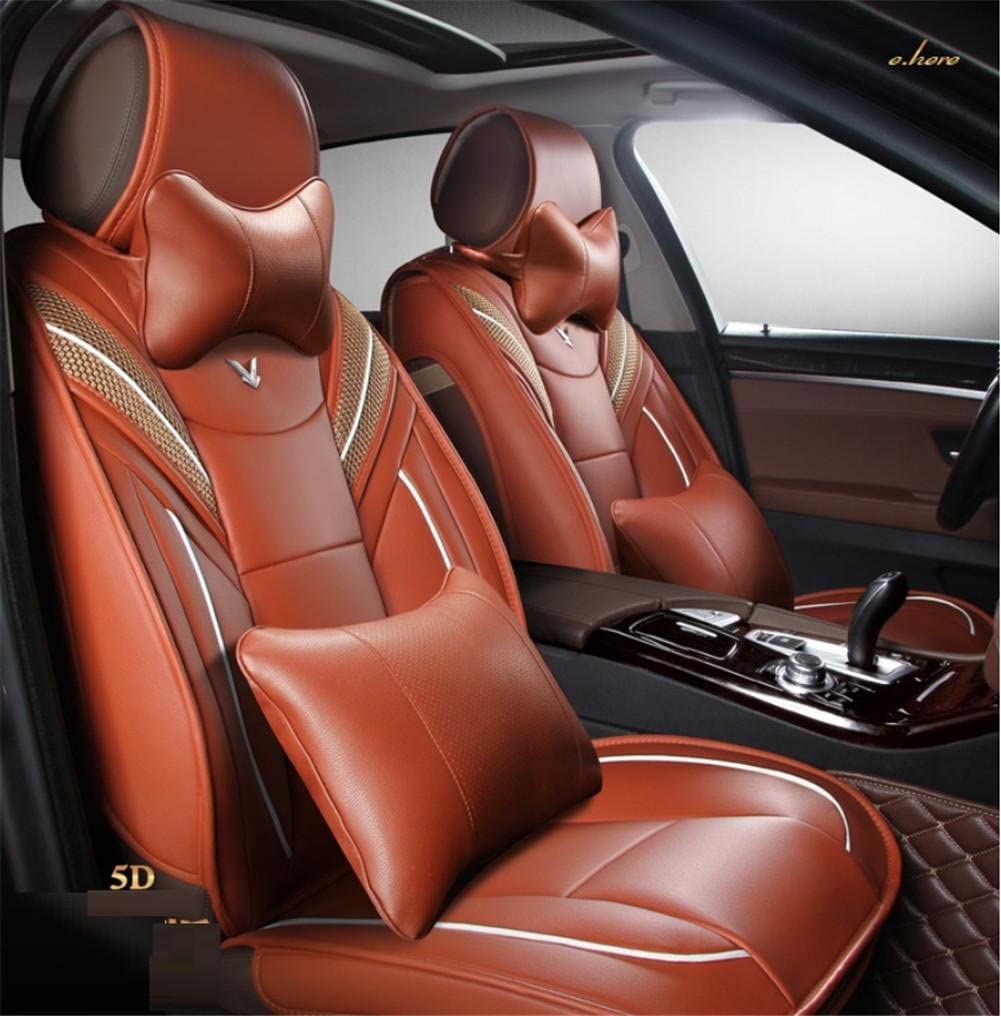 Audi A3 a4l a6l Q3 Q5 A5 a AMYMGLL Five Universal leather car cushion seat cover 360/° full surround fit model