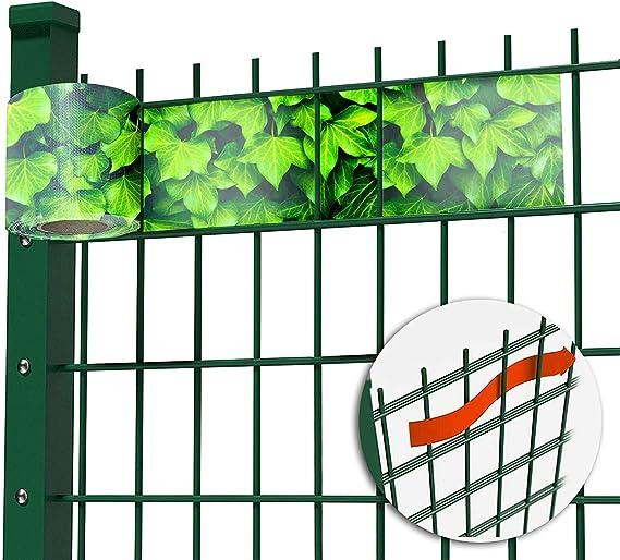 Cloture Jardin /& Pare Vent ILESTO Brise Vue PVC Rouleau de 35m x 19cm | Anthracite