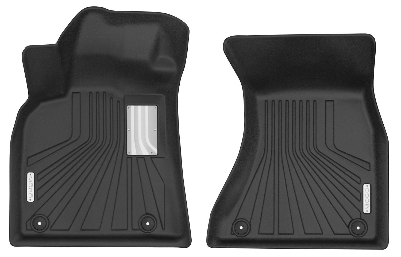 Front Fits 19-17 Q5 14-17 SQ5 MOGO 70101 Black Floor Liners 15-18 Macan