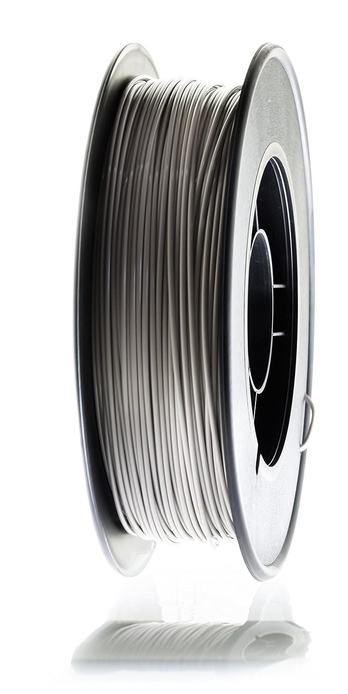 3dk.berlin - PLA-Filament Platingrau - PL71023-2000g, 1,75mm B01NB10ZFO Filament-3D-Druckmaterialien