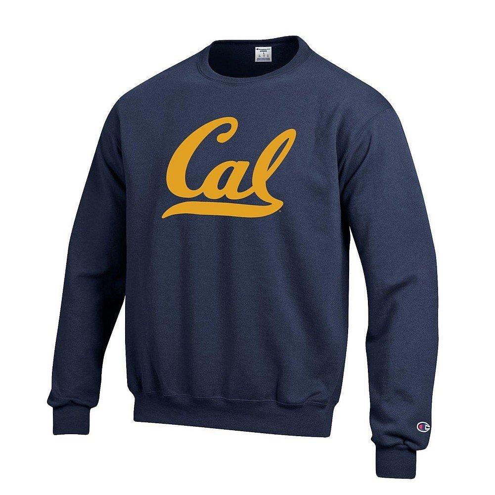 NCAAチームアイコンタッチダウンクルースウェットシャツ 3L California Golden Bears Navy B0754L1369