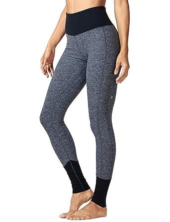 4905ff4c97495 CRZ YOGA Women's High-Waist Tight Tummy Control Pants Sports Yoga Jogger  Lounge Legging Charcoal