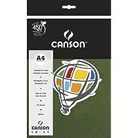 Papel Canson Color Verde Amazonas A4 120g/m² com 15 folhas, 66661266