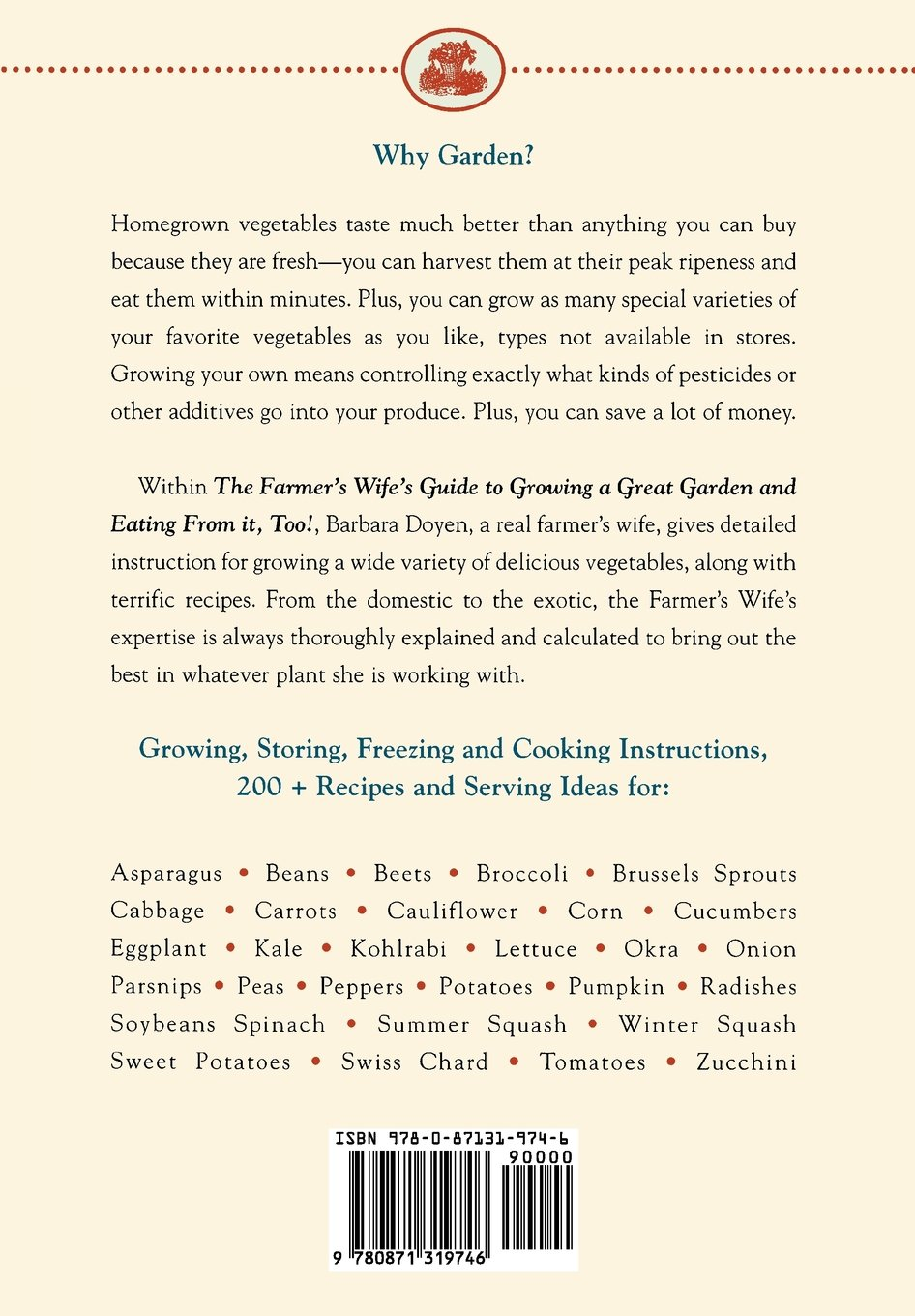 Pleasant The Farmers Wife Guide To Growing A Great Garden And Eating From  With Fetching The Farmers Wife Guide To Growing A Great Garden And Eating From It Too  Storing Freezing And Cooking Your Own Vegetables Barbara Doyen  With Astonishing Gardens In Cotswolds Also The Good Witchs Garden In Addition Craven Gardens And Garden Trunk As Well As Garden Perennial Plants Additionally Garden Topsoil From Amazoncom With   Fetching The Farmers Wife Guide To Growing A Great Garden And Eating From  With Astonishing The Farmers Wife Guide To Growing A Great Garden And Eating From It Too  Storing Freezing And Cooking Your Own Vegetables Barbara Doyen  And Pleasant Gardens In Cotswolds Also The Good Witchs Garden In Addition Craven Gardens From Amazoncom