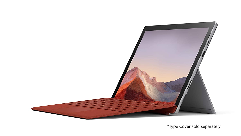 "NEW Microsoft Surface Pro 7 – 12.3"" Touch-Screen - 10th Gen Intel Core i5 - 8GB Memory - 128GB SSD (Latest Model) – Platinum"