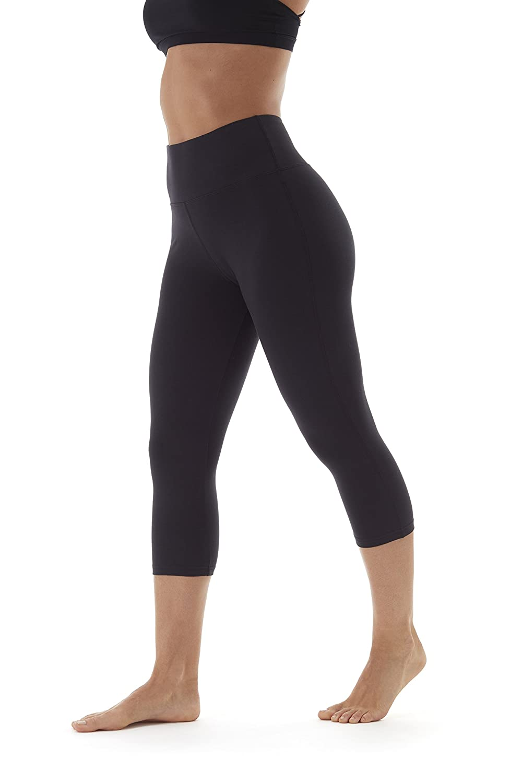 9b028fad46d42 Amazon.com: Marika HIGH Rise Tummy Control Legging: Clothing