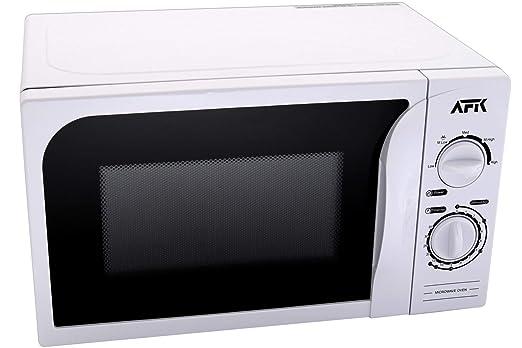 Microondas AFK 700 W con 5 niveles temporizador Plato ...