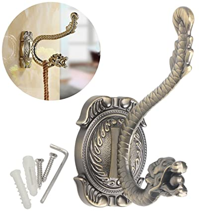 Bathroom Towel Hook, Essort Antique Brass Dragon Style Bathroom Towel  Hanger Holder Coat Hat Hook
