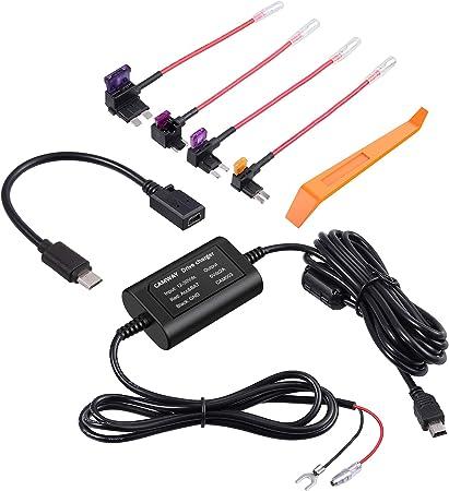 Camway Universal Dash Cam Hardwire Kit With Micro Usb Elektronik