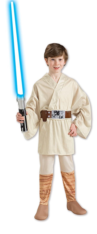 Rubies 883159L - Disfraz de Luke Skywalker Star Wars para niño, talla 8-10 años