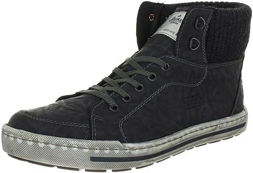 38032-45, Mens Hi-Top Sneakers Rieker