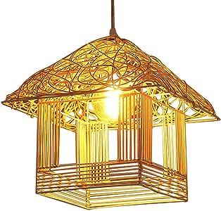 ZXJUAN Plafón Europeo Comedor-Sala de lámparas y linternas de Moda del carácter Individual de Cabina bastón del Arte Droplight Sentado Corredor Sala Dormitorio Lámparas Linternas Creativo D30CM: Amazon.es: Hogar