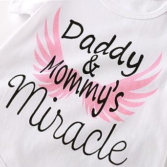 Amazon.com: scfcloth Set Baby Girl Ropa Recién Nacido Daddy ...