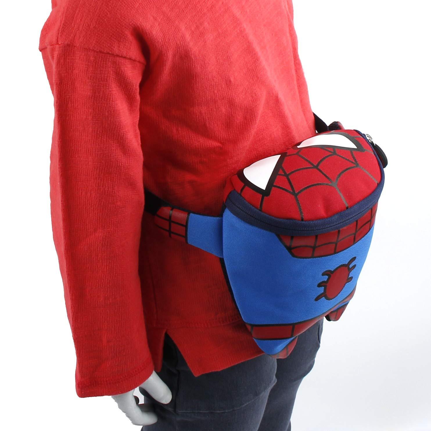 3~5ages Disney MARVEL Spider Man Small HipSack Waist Pack Fanny Bag Phone Wallet for Toddler to Kids