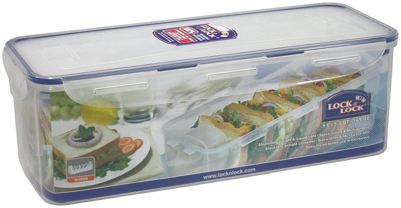 HPL849T /&Lock Lock Bo/îte /à Pain rectangulaire alimentaire Sandwich d/étenteur w//5 l