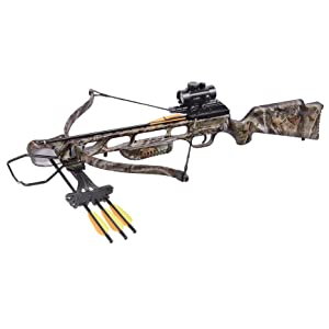 CenterPoint XR175 Recurve Crossbow Package in Camo