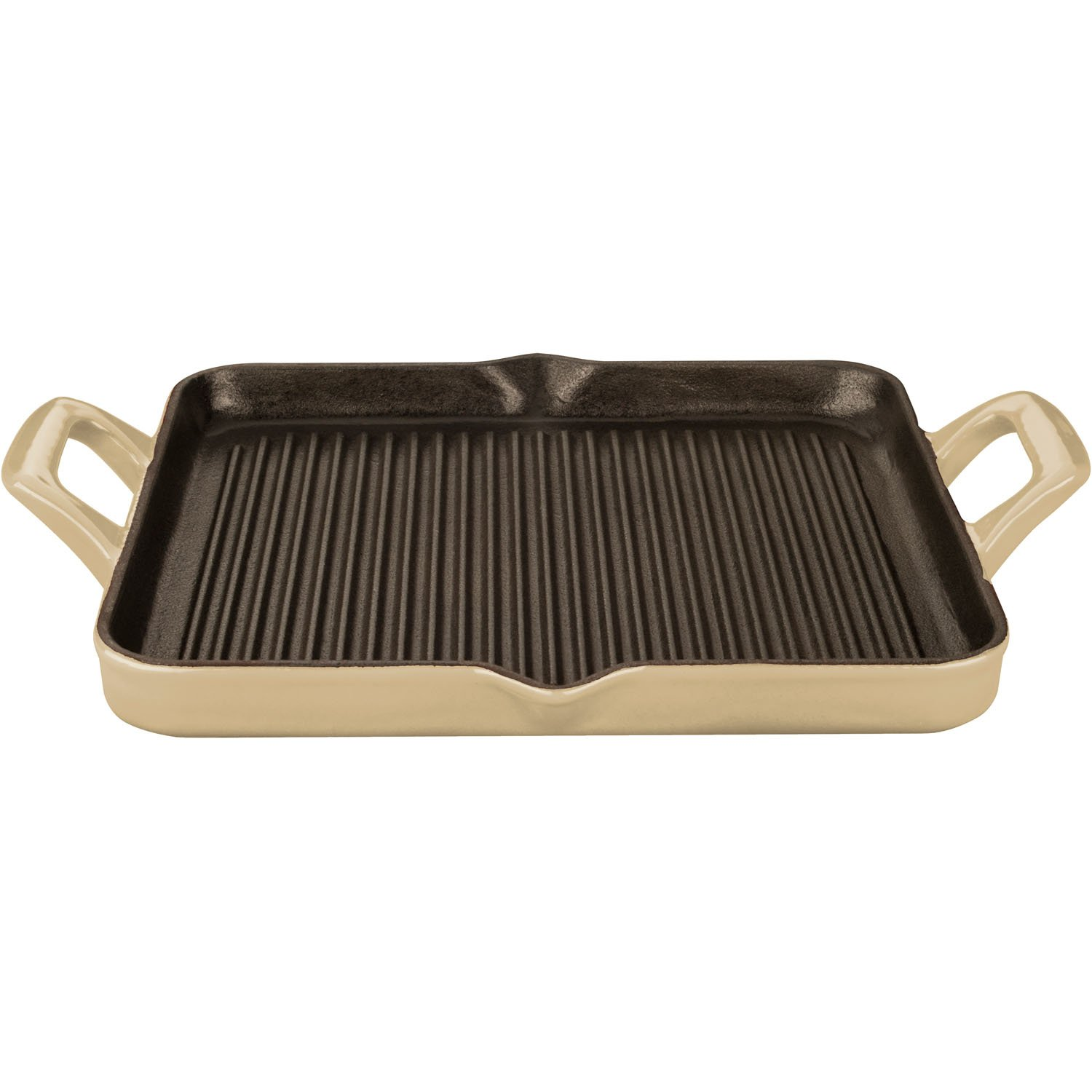 Amazon.com: La Cuisine 1 Qt Rectangular Enameled Cast Iron Grill ...