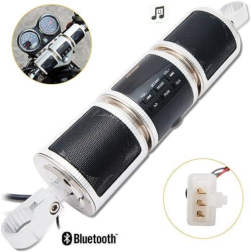 Powersport Speakers Maso Waterproof 12V HiFi Motorcycle Bluetooth Speaker