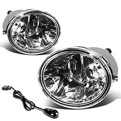 DNA Motoring FL-T021-CH Fog Light [for 00-07 Tundra/Sequoia]: Automotive