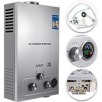 VEVOR Calentador de Gas 6L/8L/10L/12L/16L/18L, Calentador de Agua de Gas Natural, Calentador de Agua a Gas LNG…