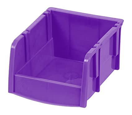 Exceptionnel IRIS Extra Small Storage Bin, Purple 24 Pack