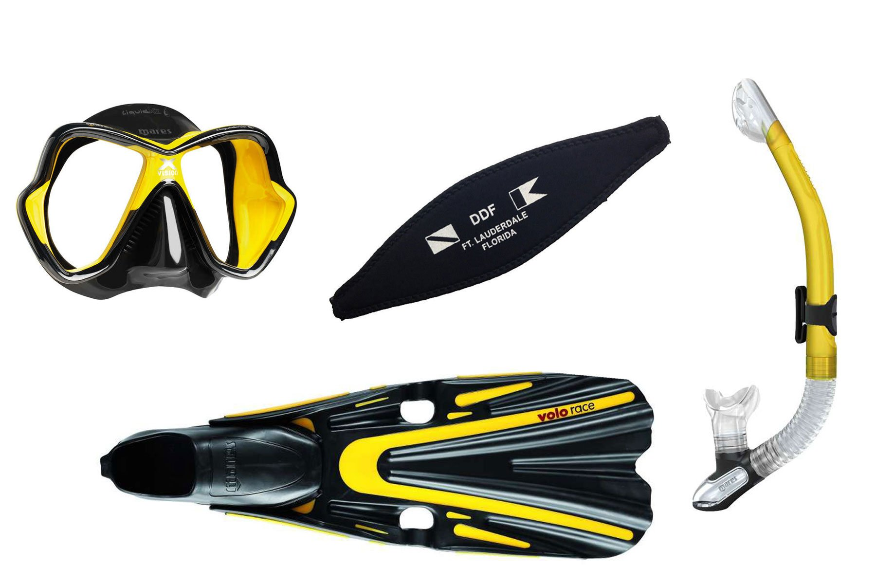 Mares Mask, Fins and Snorkel Set