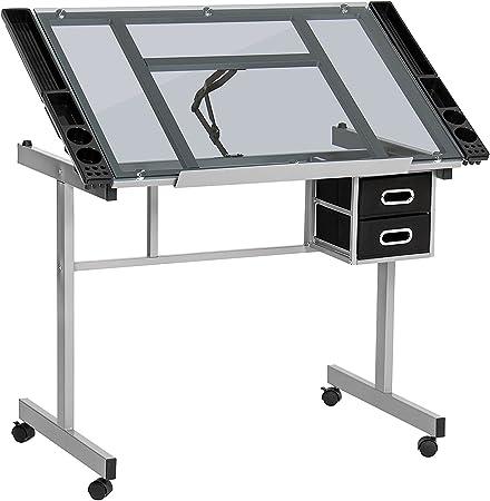 Display4top - Mesa de Dibujo (Acero Recubierto de Polvo de Alta ...