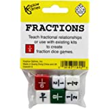 Koplow Games KOP11692 Fraction Dice Game Set