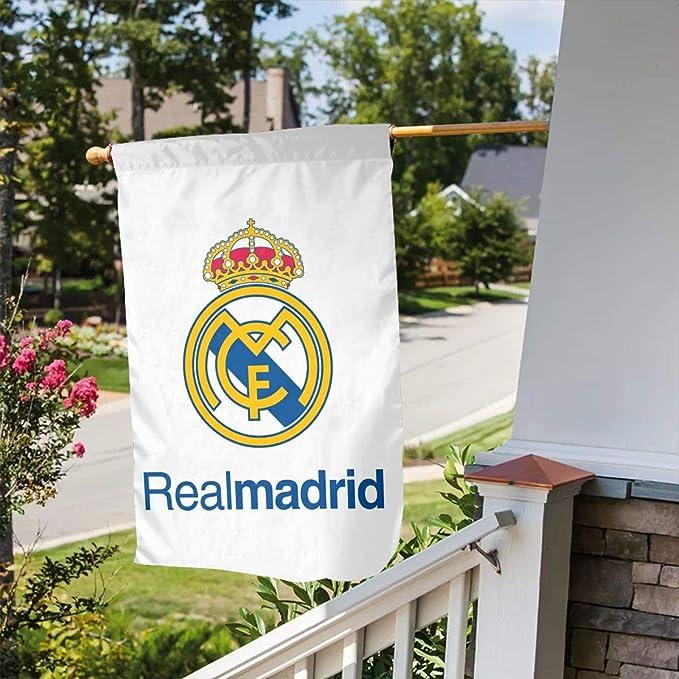 Flags-zuqiu Bandera del Real Madrid de Doble Cara de 31, 75 x 45 ...