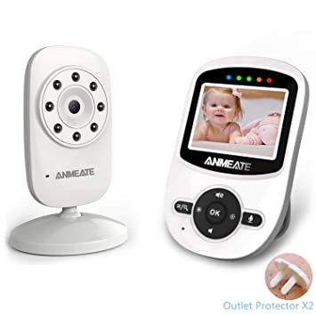 a1094e1f03037 Amazon.com   Video Baby Monitor with Camera and Infrared Night ...