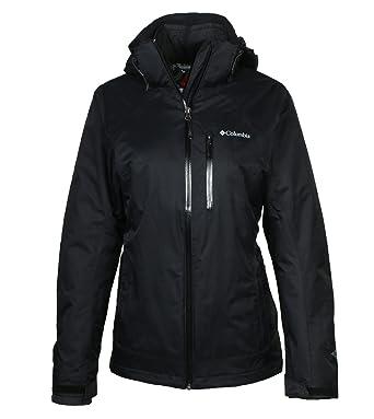 Columbia Womens Nordic Point II Interchange Jacket-Black/Black-XS