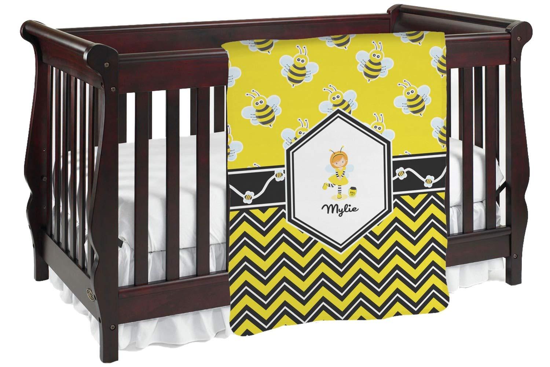 Buzzing Bee赤ちゃんBlanket ( Personalized ) Baby Baby Blanket ブラック mi-baby-blanket-fb+200673 Blanket ブラック 両面 B01KIOOZZ8, マサニ電気株式会社:62734371 --- ijpba.info