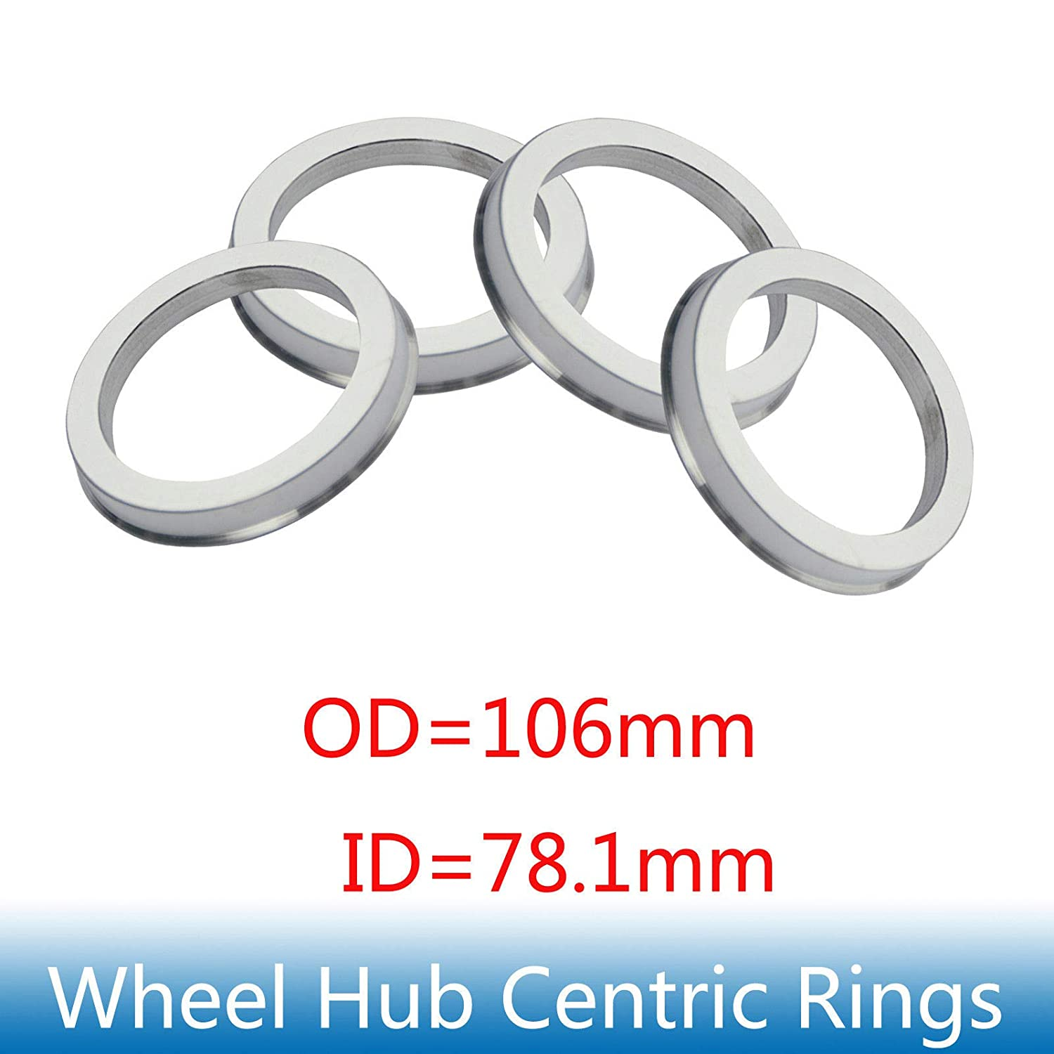 Hubcentric Rings Hub Centric Rings 65.1x70.4mm 4 pieces