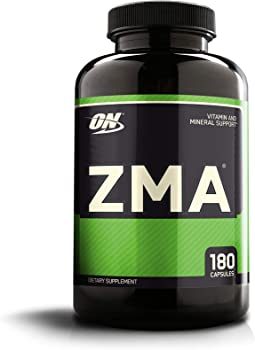 180 Capsules Optimum Nutrition ZMA Zinc and Magnesium Supplement
