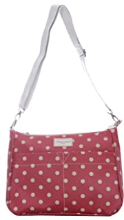 Reversible Oilcloth Canvas Messenger 2 in 1 Ladies Cross Body Bag Waterproof 61add4fa62