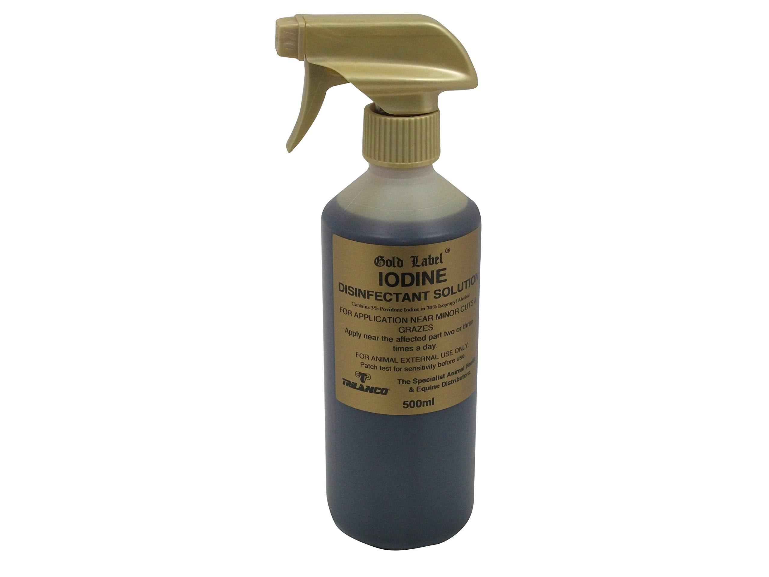 Gold Label Signature Iodine Spray - 500 Ml - Clear, Unisex