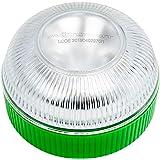 Motorkit Luz magnética LED de Emergencia homologada (V16) de Alta luminancia, sustituye a los triangulos, Apto para Uso…