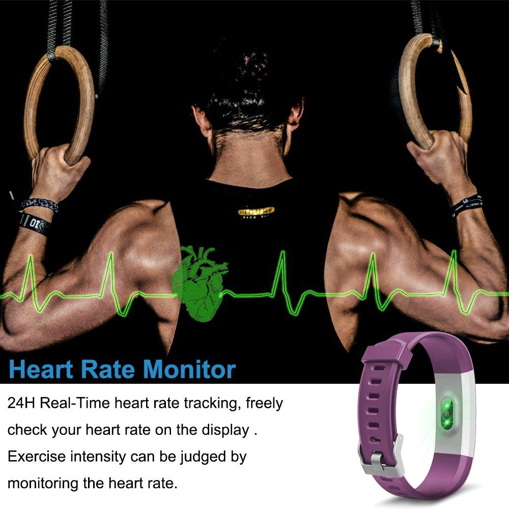 Semaco Zjb7000 Wlwatch007 Fitness Tracker Waterproof Heartratenotesforbasiccircuittrainingjpg Electronics